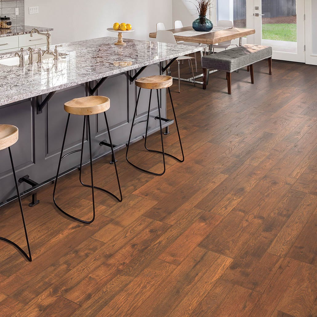 Laminated Flooring Special Characters And Specifications South Haven Oak Model# LF000891
